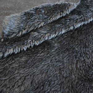 Мех овчина черный