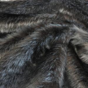 Мех темно-коричневый