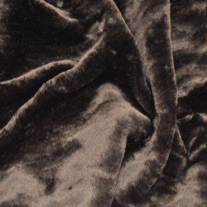 """Искусственный мех гладкокрашеный """"под мутон"""" коричневый"""