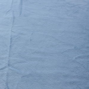 Искусственный мех серо-голубой