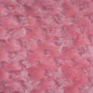 Мех ярко розовый