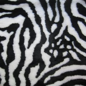 Мех зебра