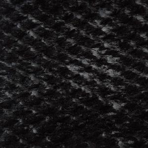 Коротковорсовый черный искусственный мех купить метражом цена